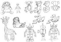 Characters - Pencil Draft Designs