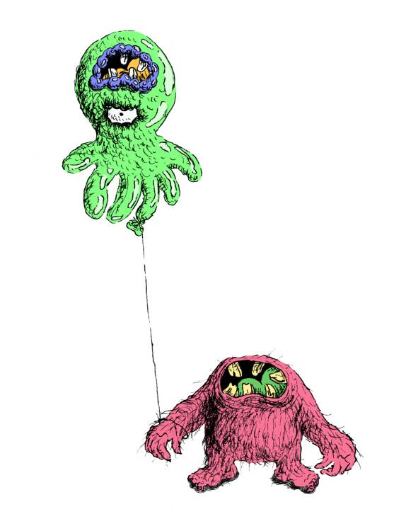 Monster-with-balloon-4D